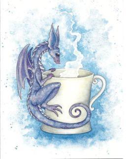 dragon and coffee
