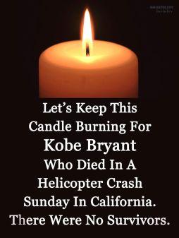 kobe candle